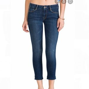 """MOTHER Jeans """"The Looker Crop"""""""